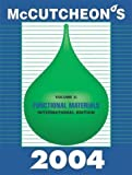 McCutcheon's Functional Materials : International Edition, , 0944254985