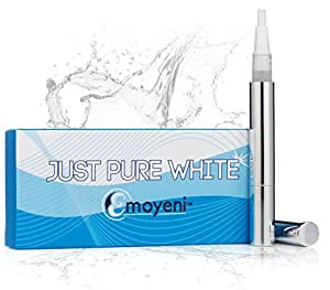 Just Pure Hut Dentist Teeth Whitening Pen Kit - Zero Peroxide - Plus Hollywood Dentist Tips - Plus Weight Loss Tips (ebooks) by Just Pure Hut