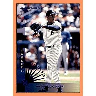 1997 Donruss Team Sets Blue Foil NEW YORK YANKEES Single Card #129 Doc Dwight Gooden