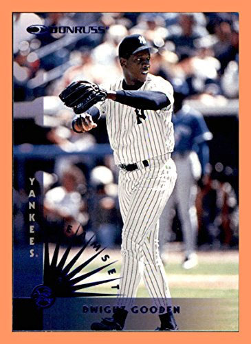 1997 Donruss Team Sets Blue Foil NEW YORK YANKEES Single Card #129 Doc Dwight Gooden