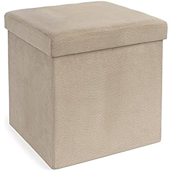 Perfect Amazon.com: Casual Home Microsuede Folding Storage Ottoman, Sage  XE47