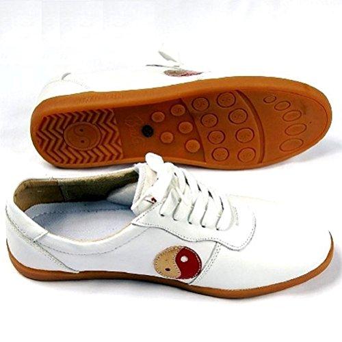 LA TORTUE DE JADE - Zapatillas de artes marciales para hombre Blanco - blanco