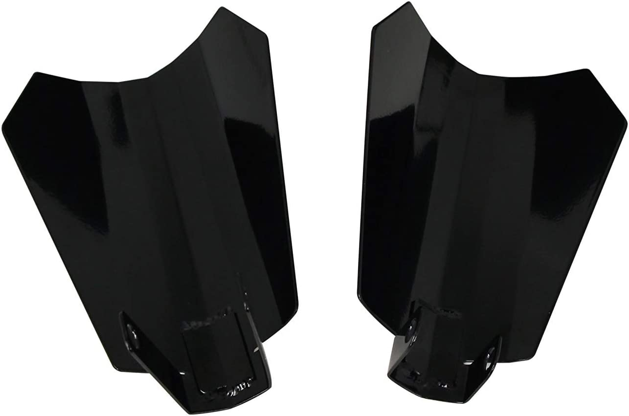 Large Semoic Motorcycle Gloss Black Coffin Cut Hand-Guards for Harley 07 and Up Electra Street Road Glide Road King Baggers