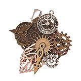 Search : GRACEART Steampunk Gears Clock Hair pin