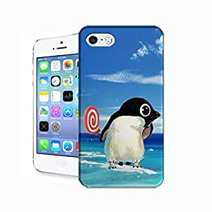 2XDesign The-Snow-Penguin TPU Special Protector Hard Cover Case For iPhone 5s