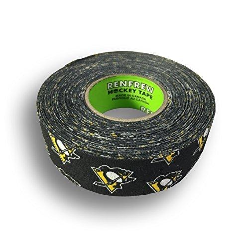 Renfrew NHL Team Cloth Hockey Tape (Pittsburgh Penguins)