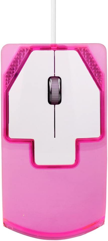 Green FEDULK Corded Mice1600 DPI Optical USB LED Wired Game Mouse for Computers and Laptops