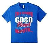 Kids Scorpio T-shirt Im A Scopio Ive Got A Good Heart 8 Royal Blue