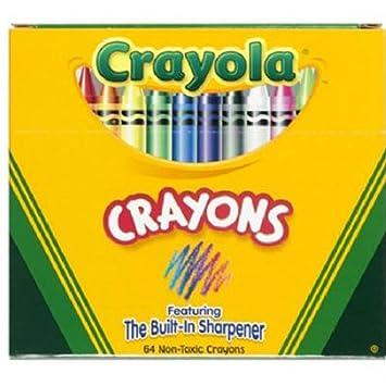 crayola 64 ct crayons 52 0064 - Crayola Crayons Pictures