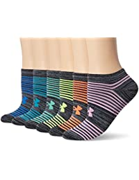 Women's Essential Twist 2.0 No Show Socks (6 Pack)