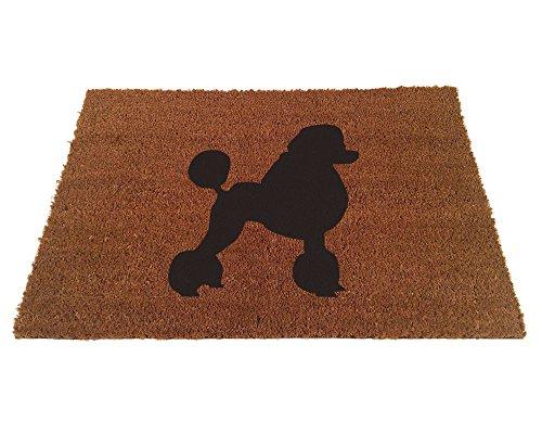 Poodle Door Mat (Poodle Silhouette Doormat (24