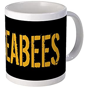 CafePress - U.S. Navy: Seabees (Black) Mugs - Unique Coffee Mug, Coffee Cup from CafePress