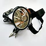 Adsled 8W 6v 12v 24v Led Headlamp Hunting Fishing Hunting External Power Dc Power Headlight Glare