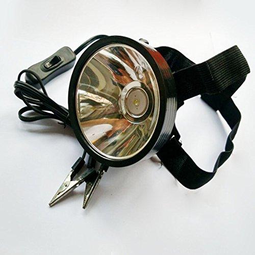 Adsled 8W 6v 12v 24v Led Headlamp Hunting Fishing Hunting External Power Dc Power Headlight Glare