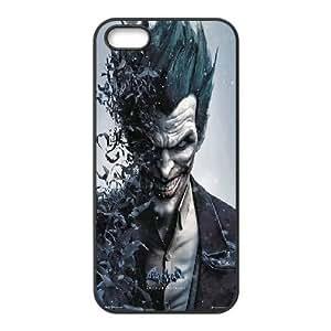 [The Joker] Superhero Minimalist DC Comic Batman Joker Poster Cases for Case For Iphone 4/4S Cover , Case For Iphone 4/4S Cover Case Funny Cute Cheap for Girls {Black}