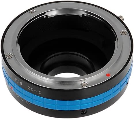 Fotodiox Pro Lens Mount Adapter Compatible with Mamiya ZE 35mm Film Lenses to C-Mount Cameras