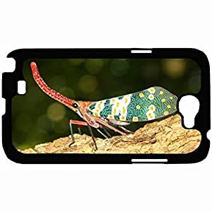 New Style Customized Back Cover Case For Samsung Galaxy Note 2 Hardshell Case, Back Cover Design Lantern Fly Personalized Unique Case For Samsung Note 2 wangjiang maoyi