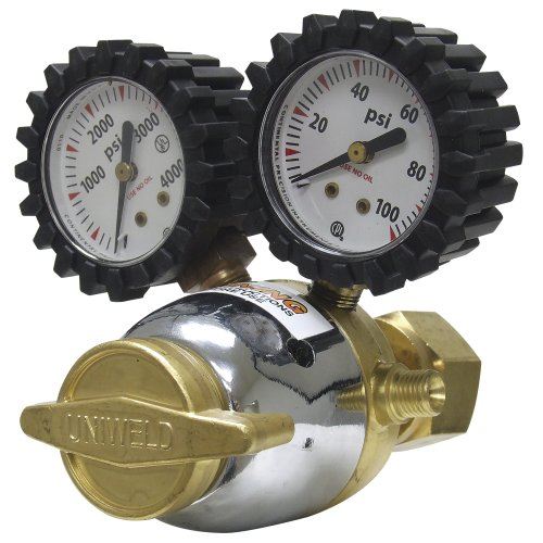 "Uniweld RO Patriot Series Oxygen Regulator with ""A"" Outle..."