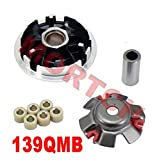 139qmb GY6 50cc Complete Racing Variator for Scooter - Best Reviews Guide