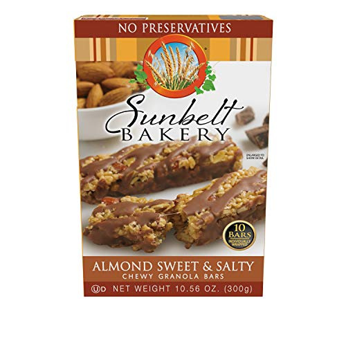 Sunbelt Bakery Almond Sweet & Salty Chewy Granola Bars, 120 Count