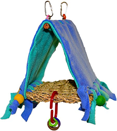 Parrot Kook Resort Hut for Sun Conure Medium Tent USA by Parrot Kook