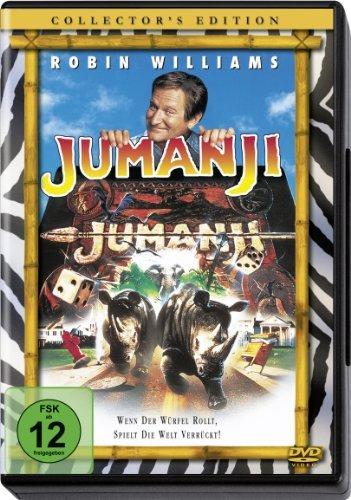 JUMANJI - WILLIAMS,ROBIN/DUNST [DVD] [1996]: Amazon.es: Cine y Series TV