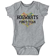 Hogwarts First Year Cool Shirt Funny Gift Harry Potter Baby Romper Bodysuit