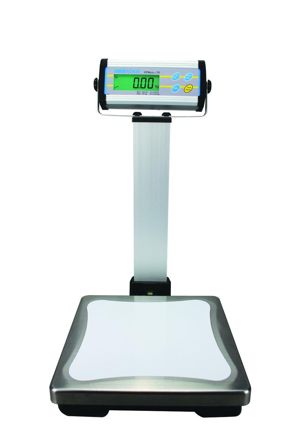 Image of Adam Equipment, CPWPLUS15, Bench Scale, Digital, 15kg/33 lb. Postal Scales