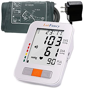 Beauty & Health Led Digital Display Precision Automatic Electronic Blood Pressure Monitor Arm Type Electronic Blood Pressure Monitor Voice Clear And Distinctive Health Care