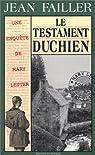 Le testament Duchien par Failler