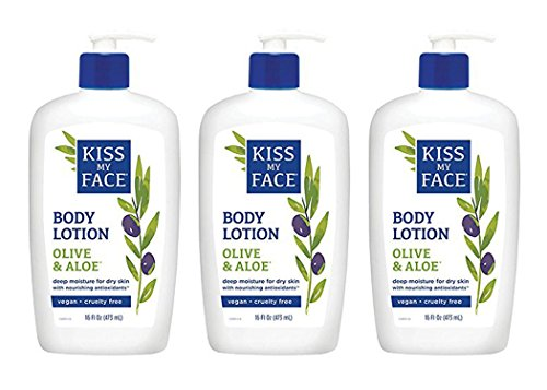 Kiss My Face Olive & Aloe Moisturizer - 3