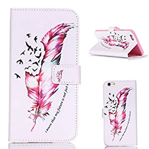 "Protection tapa Case Magnet billetera Design Premium PU cuero Shell Card Holder Flip Stand funda carcasa Cover para Apple iphone 6 6S (4.7 "")"
