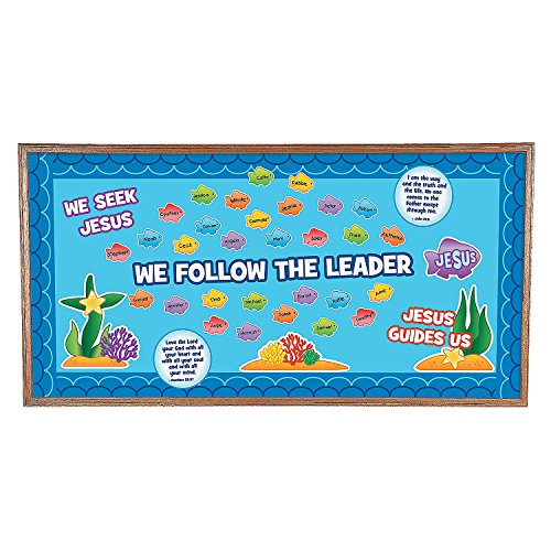 We Follow Jesus Bulletin Board Set ()
