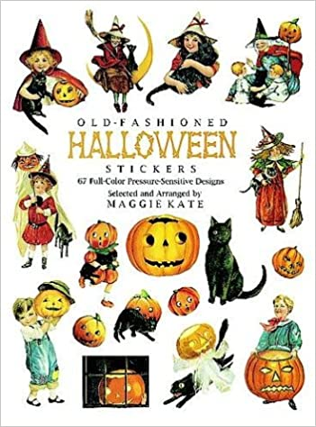 Old-Fashioned Halloween Stickers: 67 Full-Color Pressure-Sensitive Designs  (Dover Stickers): Amazon.co.uk: Maggie Kate: 0800759291953: Books