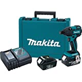 Makita XDT08 18V LXT Lithium-Ion Brushless Cordless Impact Driver Kit (Discontinued by Manufacturer)