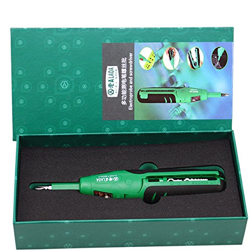 LAOA LA515001 Multifunction Electric Tester Wire Stripper Cutter Stripping Machine Screwdriver