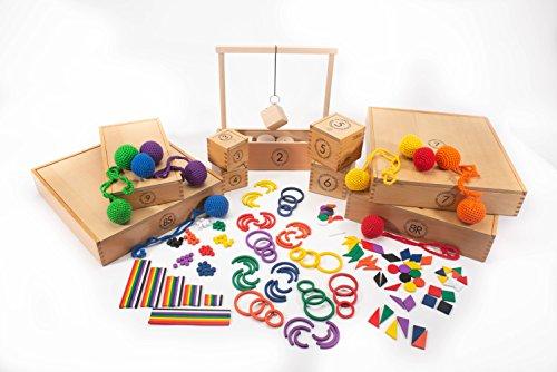 FROEBEL Gifts 1-9 Set Spielgaben Eunmul
