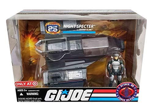 GI Joe 25th Anniversary Night Specter with Grand Slam - Attack on Cobra Island