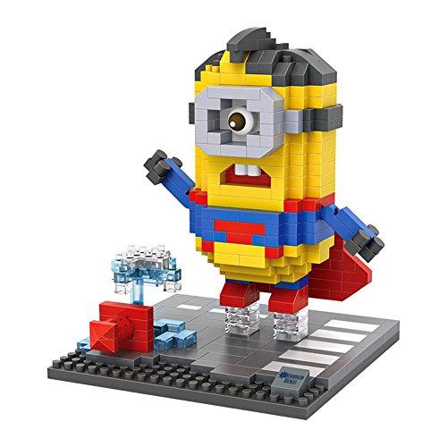 Grandline Minions Featuring Superman Micro Blocks 400 PCS