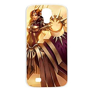Leona-001 League of Legends LoL For Case Samsung Galaxy S3 I9300 Cover Plastic White