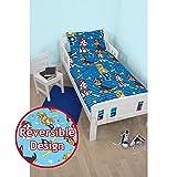 PAW PATROL Hero Junior Reversible Bed Duvet Set Fits Toddler , Junior & Cot Bed