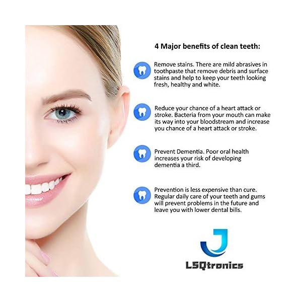 LSQtronics 16 Testine di Spazzolino da Denti di Sostituzione Compatibili per lo Spazzolino Elettrico Braun Oral-B… 7 spesavip