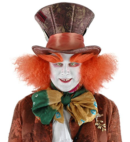 Alice in Wonderland Mad Hatter Hat with Hair, Disney (Mad Hatter Halloween Party)