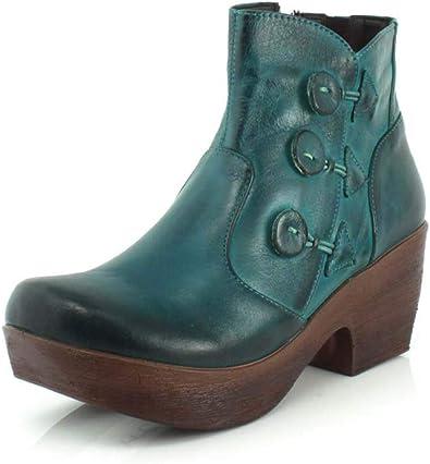 Amazon.com   Jafa Womens 615 Teal Boot