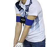 Blue Color Pro Golf Swing Arm Band Training Aid for Golf Beginners - Unisex