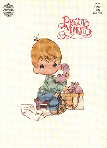 Precious Moments: Dear Jon (Craft Book, Cross Stitch) (Designs by Gloria & Pat, Book PM-3)
