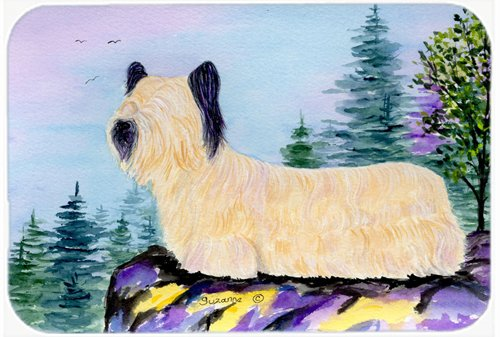 Caroline's Treasures SS8679LCB Skye Terrier Glass Cutting Board, Large, Multicolor