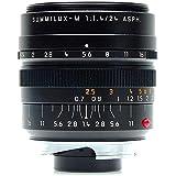 Leica (11 601) 24mm f/1.4 Summilux-M ASPH. Black Anodized Finish
