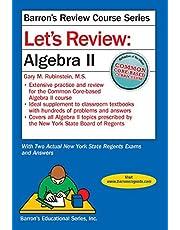Let's Review Algebra II