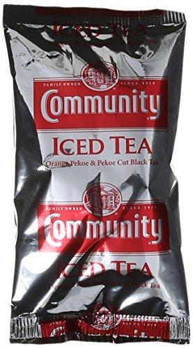 Community Coffee Pre-Measured Filter Packs Iced Tea 4.0 oz. 24 count